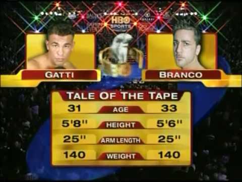 Arturo Gatti vs. Gianluca Branco - BOXING