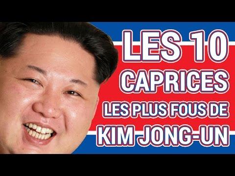 LES 10 CAPRICES LES PLUS FOUS DE KIM JONG-UN