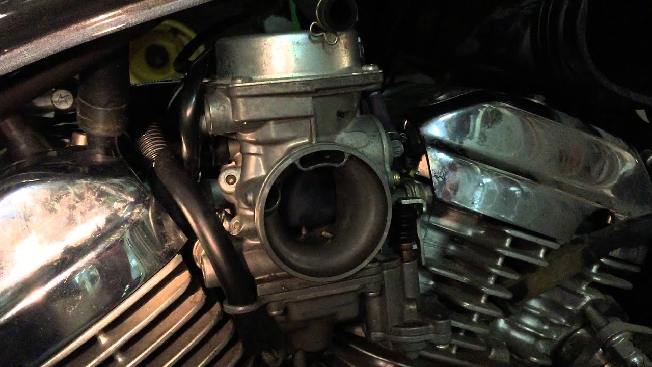 Carb issue /spark plug 2004 600 shadow   with solution
