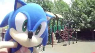 ABM Adventure: Sonic & Friends playing at the park!! HD