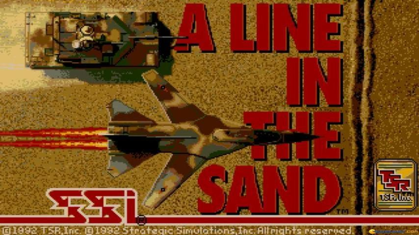 A Line in The Sand, game PC 1991