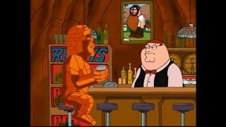 """Family Guy - """"Retired Baseball Umpire Who Opens A Bar... At The Center Of The Earth"""""""