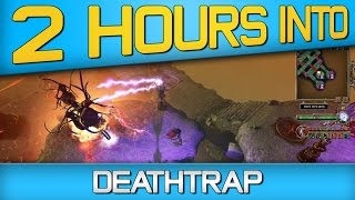 2 HOURS INTO Deathtrap Gameplay - Tower Defense Action-RPG Hybrid Game