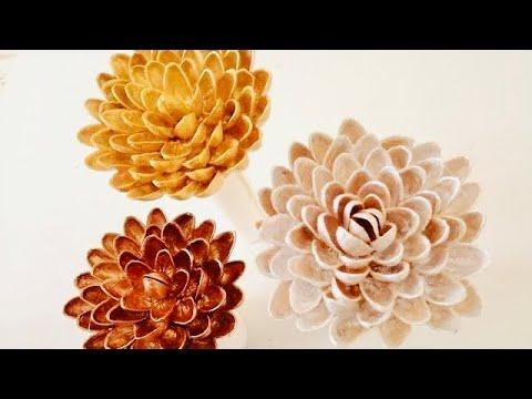 #1 പിസ്താ തൊണ്ടുകൾ ഇനി കളയാൻ വരട്ടെ | Pista shell  crafts|Diy crafts