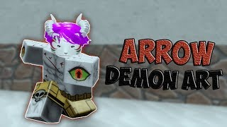 EXPOSITO DE ARTE DE DEMONIO DE SANGRE DE FLECHA ? Demon Slayer RPG Roblox