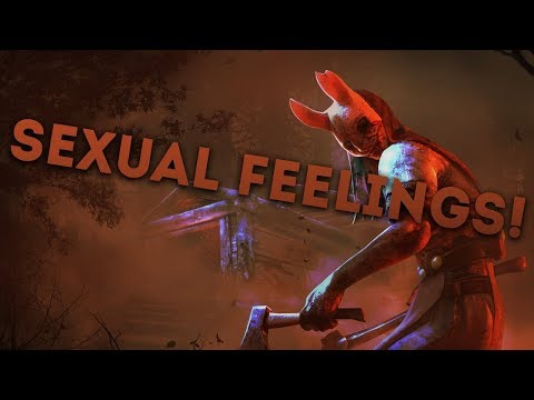 Dead by Daylight WITH...HUNTRESS! - SEXUAL FEELINGS!