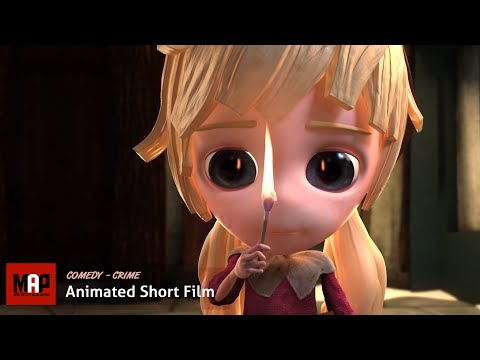 "CGI 3D Animated Short Film ""THE LITTLE MATCH GIRL"" Cute Kids Cartoon by University Of Hertfordshire"