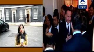 British Prime Minister David Cameron celebrates Diwali in UK