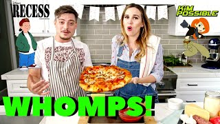 Andy Lawrence & Kim Possible Sing and Make a PIZZA PIE!!!