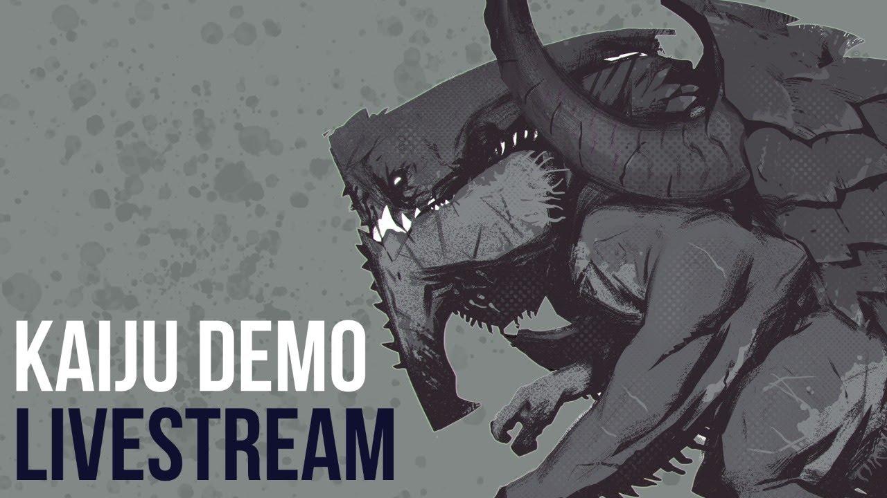 Scott Flanders: Kaiju Concept Demo (LIVESTREAM)