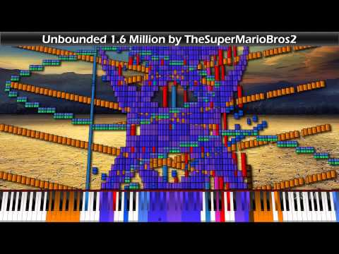 "[Black MIDI] TheSuperMarioBros2 - ""Unbounded"" 1.6 Million"