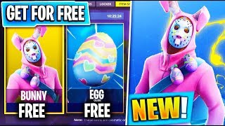 How To Get The NEW 'Rabbit Raider + Bunny Brawler' Fortnite Skins For FREE! (Easter Skins Update)