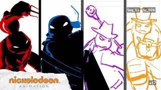 TMNT Theme Song Animatic (Season 5) 🐢   TMNT   Nick Animation