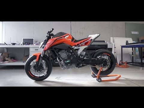 The craft work behind the KTM 790 DUKE prototype