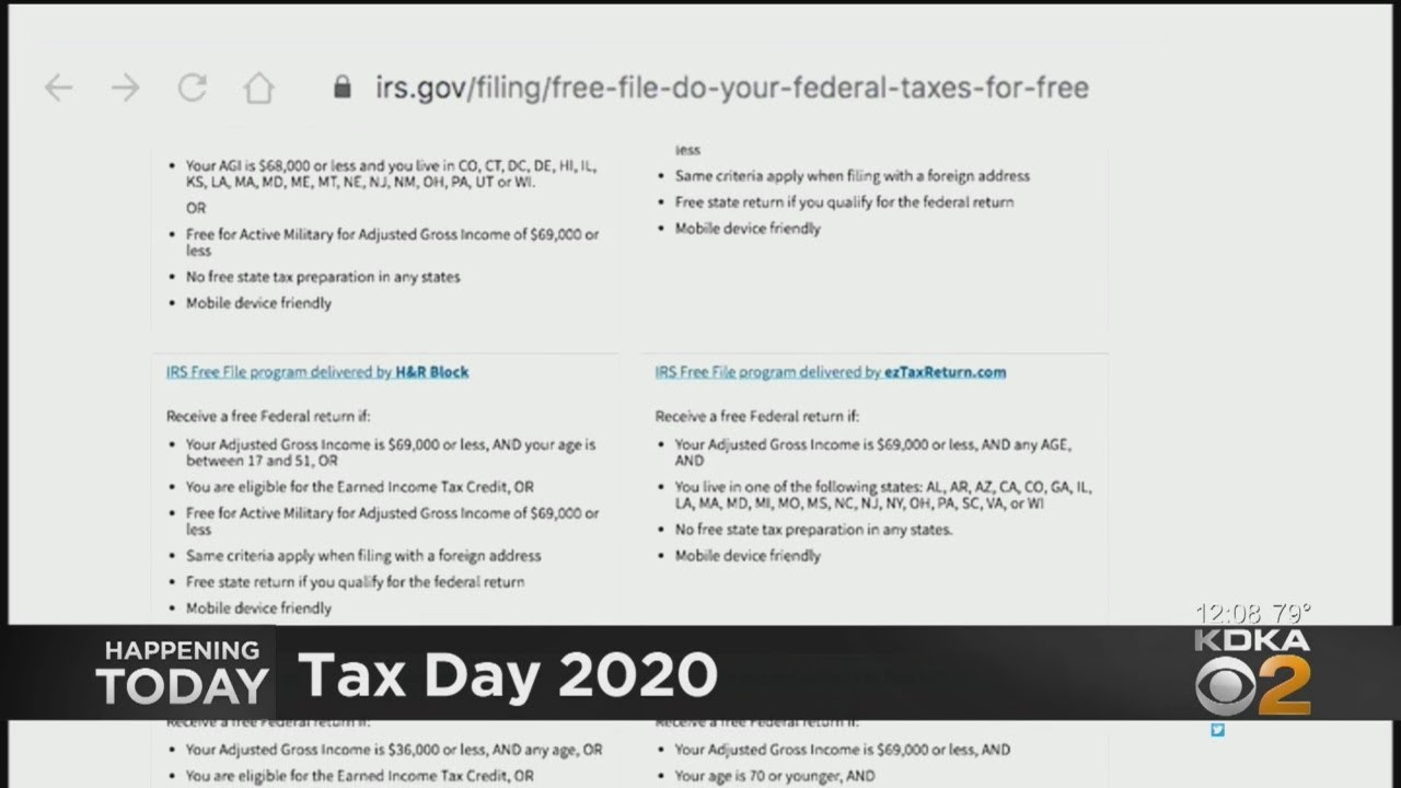 IRS Offering Free Six Month Extension To File Taxes