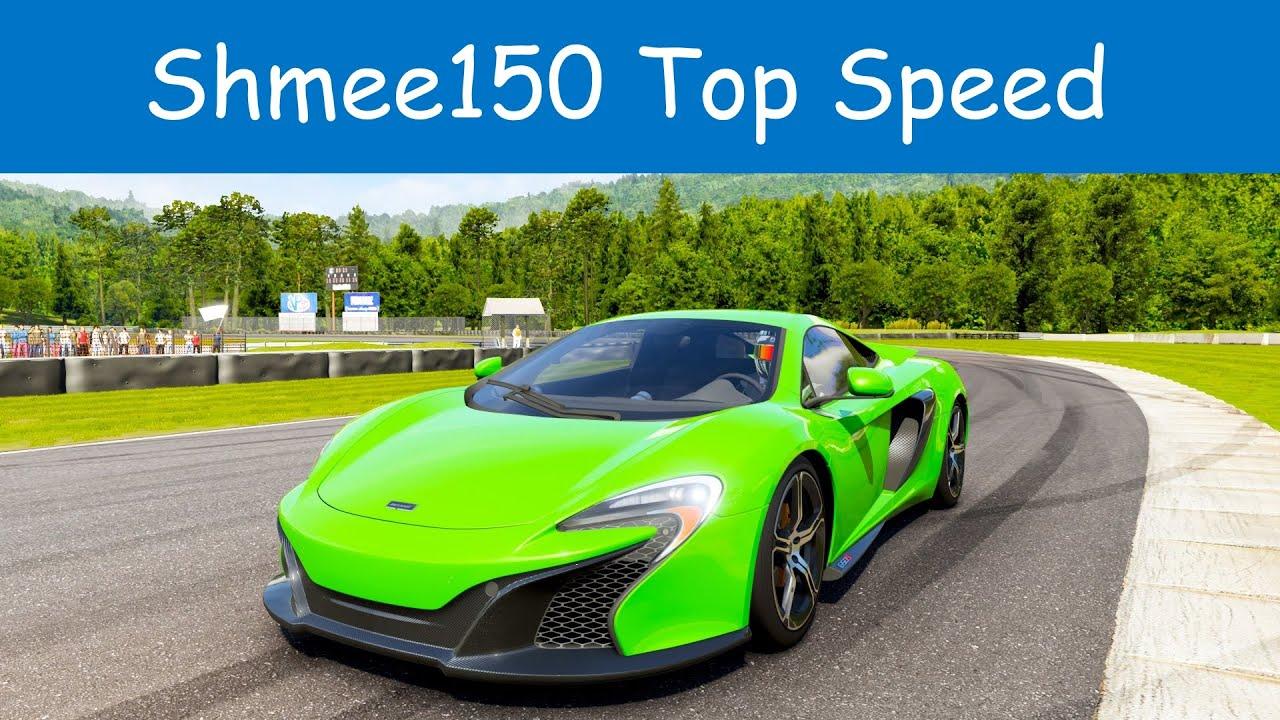 Forza 6 - 2015 McLaren 650S Top Speed - YouTube