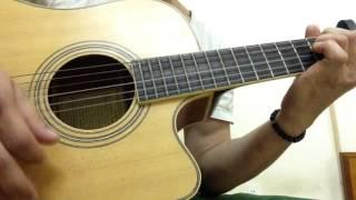 Cô Gái Đến Từ Hôm Qua Guitar Demo