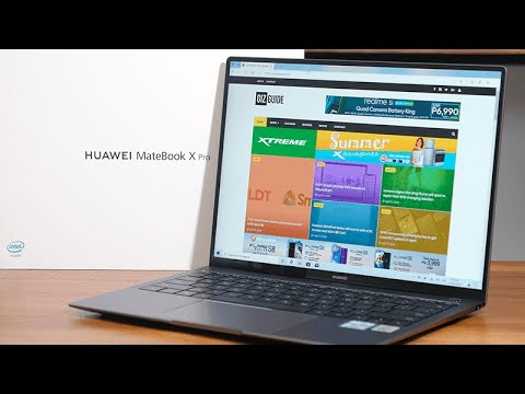 Huawei MateBook X Pro 2020 Unboxing And Impressions