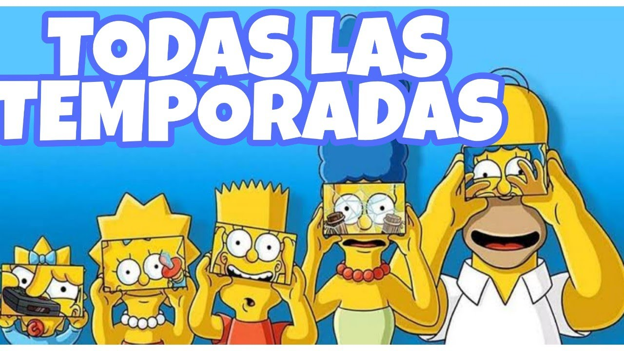 Simpson I Todas Las Temporadas En Hd Descarga I Mega Youtube
