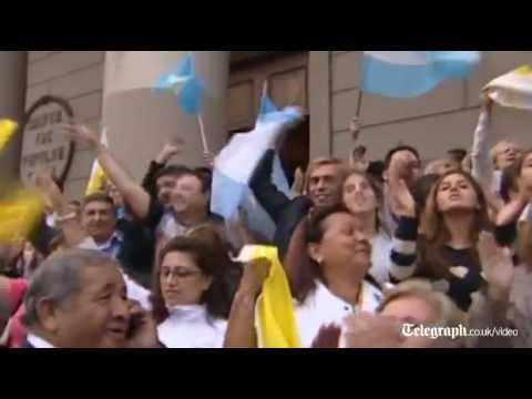 Pope Francis' hometown celebrates his...