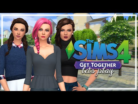 The Sims 4: Get Together | Episode 1 |  Welcome to Windenburg.