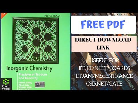 Inorganic chemistry book by huheey free