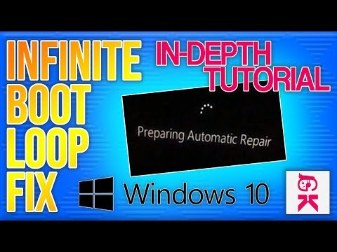 [Windows 10] How To Fix An Infinite Boot Loop (Preparing Automatic Repair) *NO SOFTWARE REQUIRED*