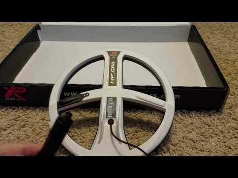 XP Deus V4 new HF coil unboxing
