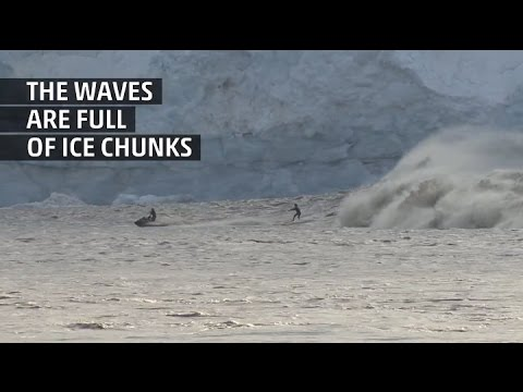 Weather Gone Viral: This is How You Surf in Alaska