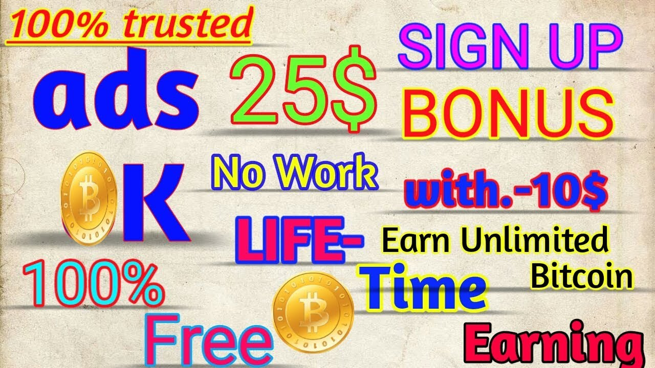 25$ SIGN UP BONUS || SIGN UP AND FORGET || EARN UNLIMITED MONEY || NO WORK  REQUIRED|| 100% FREE!