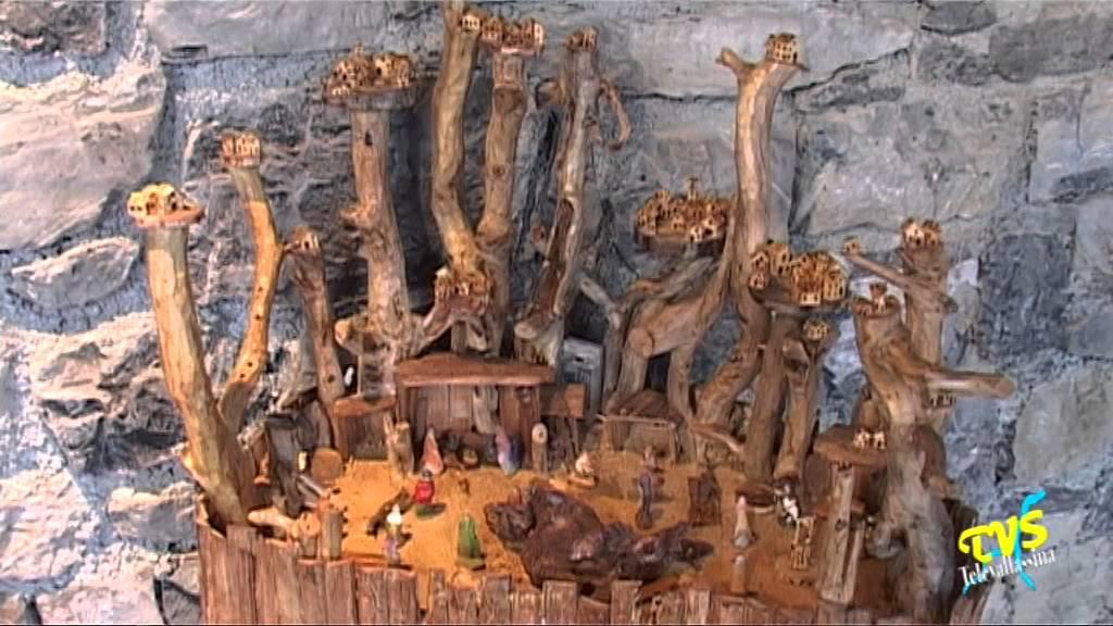 Creare montagne e muri del presepe - Parte2