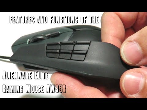 c7d8ed1f6b1 Features and functions of the Alienware Elite Gaming Mouse AW958 - YouTube
