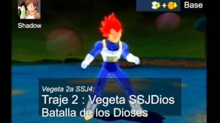 Budokai Tenkaichi 3 Versión! Latino Wii -- Light Beta 2 -- Lista De MODs