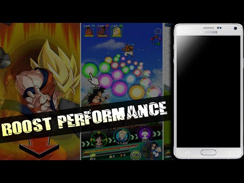How to Increase Performance for Dragon Ball Z Dokkan Battle on Android