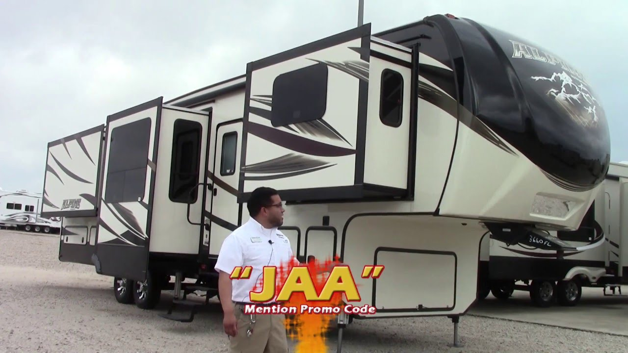New 2016 Keystone Alpine 3660fl Fifth Wheel Rv Holiday World Of Houston Dallas Las Cruces