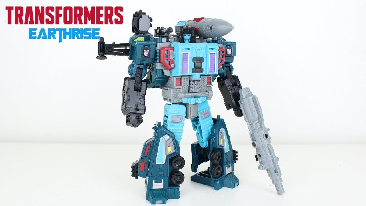 Transformers Earthrise Leader Class Doubledealer Review by PrimeVsPrime