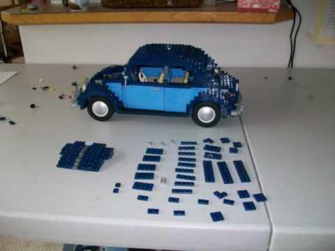 Building Lego Vw Beetle Youtube