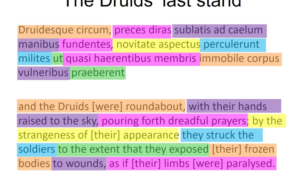 The Druids' Last Stand
