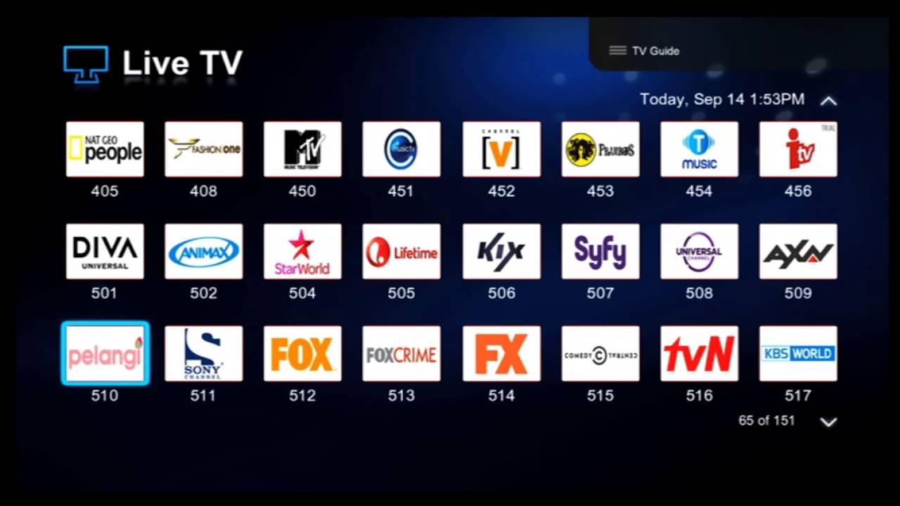 Tips Trik Live Tv Stb Hybrid Useetv Indihome