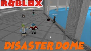 Roblox | I ALMOST FELL IN DER LAVA!!! | Roblox Disaster Dome