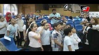محافظ المنيا يكرم المدارس الفائزة في مسابقة «المدرسة الزرقاء»