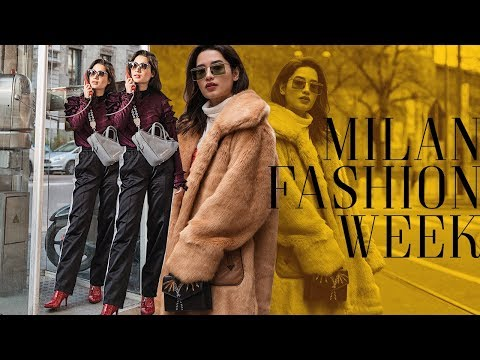 Milan Fashion Week AW 2018 | Nicole Andersson