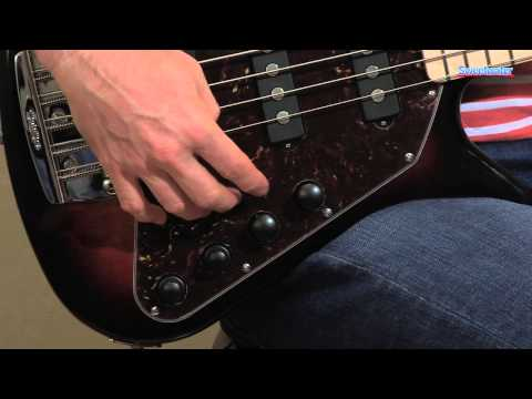 Music Man Big Al 5 SSS Electric Bass Guitar Demo - Sweetwater Sound