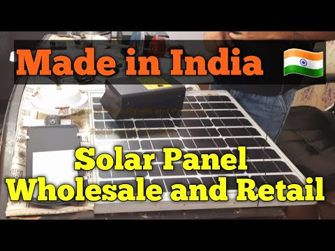 Solar panel in India – Wholesale and retail | Make in India | Solar Products in India | NOR