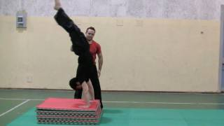 ACROBATICA - Flic Flac Tutorial (How to Do a Back Handspring) 7/7