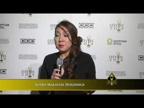 Astro Malaysia Holdings wins a 2014 Stevie® Award in The International Business Awards