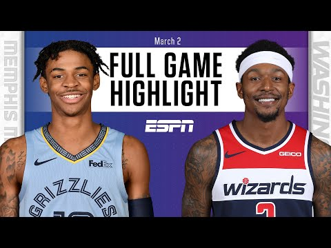 Memphis Grizzlies vs. Washington Wizards [FULL GAME HIGHLIGHTS] | NBA on ESPN