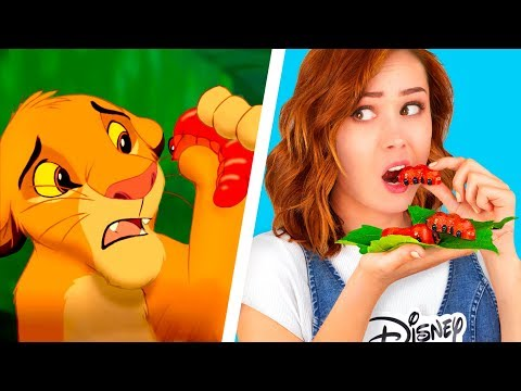 Повторяем еду из мультфильмов – 9 идей