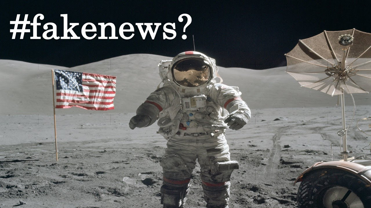 """did we land on the moon More than 10 years ago, fox popularized the moon landing conspiracy with a show called """"did we land on the moon"""" they revealed several pieces of evidence about the hoax and cover-up citing incorrect shadows on the moon, lack of background stars, and more."""