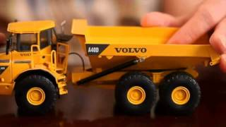 Collecting Volvo Construction Equipment's scale models